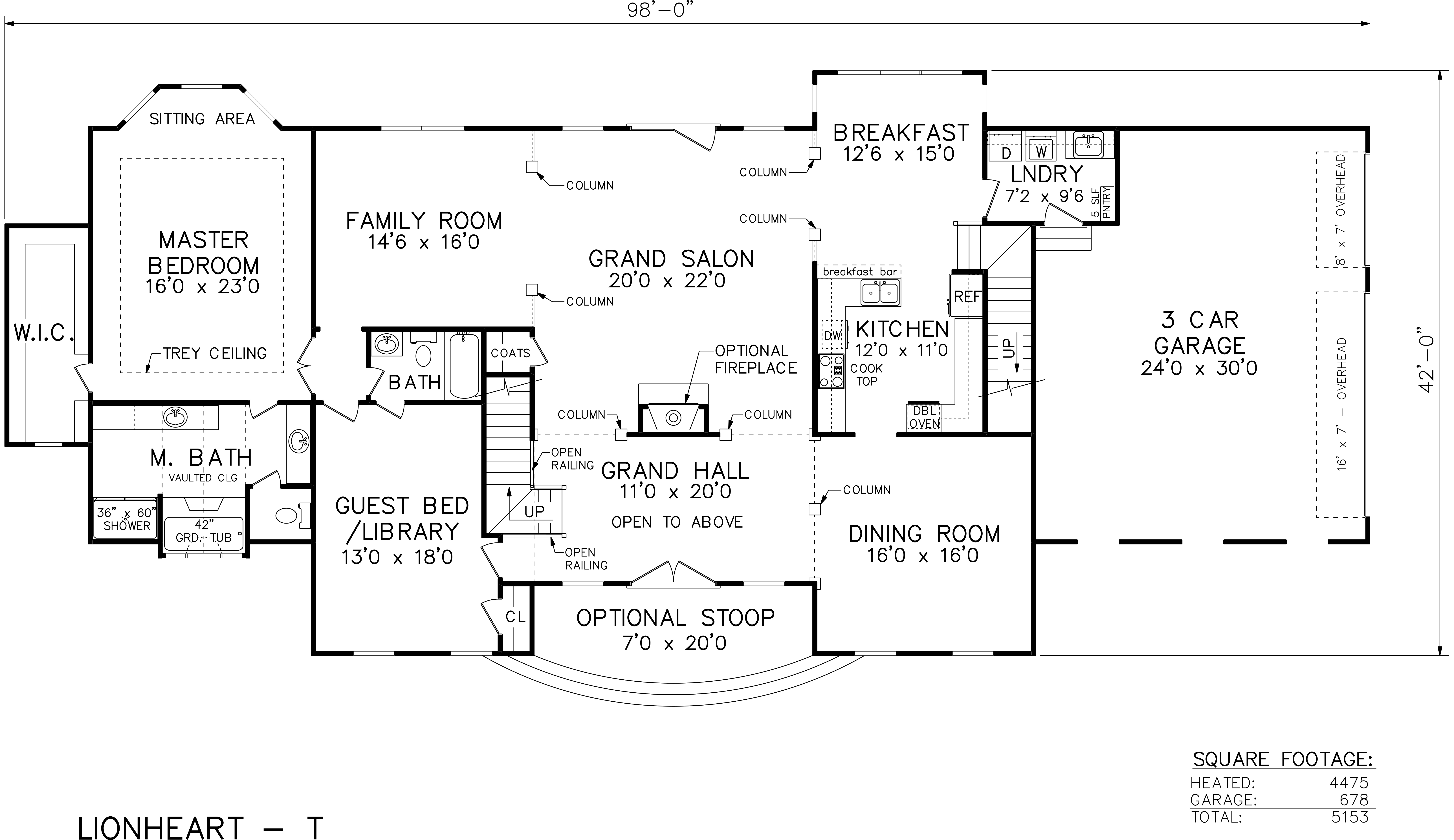 Southland Custom Homes Print Floorplan – Majestic Homes Floor Plans