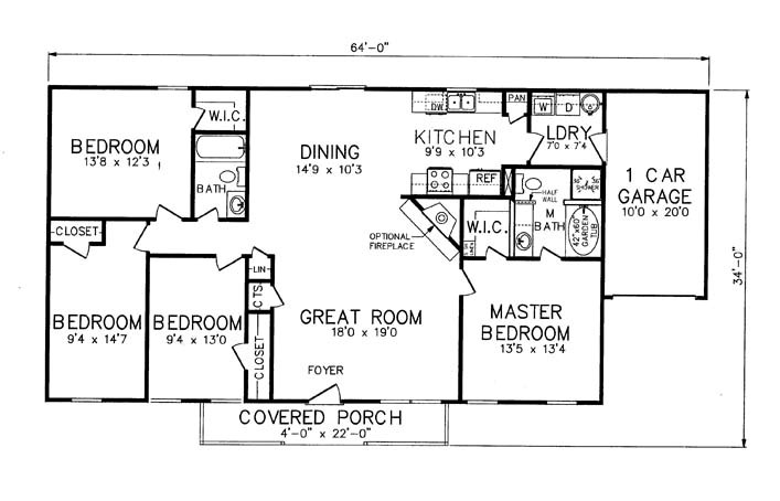 Luxury House Plans With Laundry Rooms Near Master Bedroom