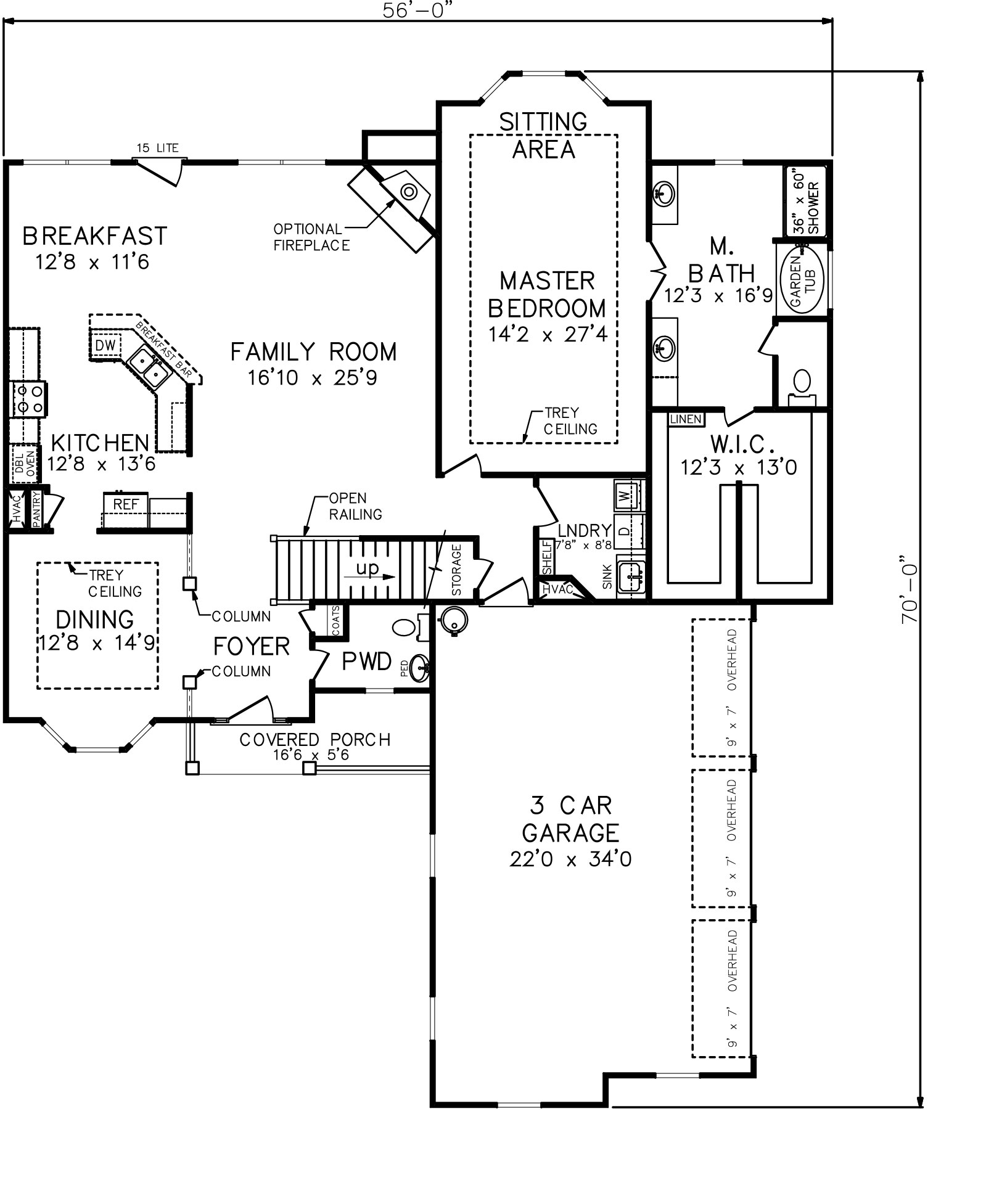 Southland custom homes on your lot home builders ga for Homes with first floor master bedrooms
